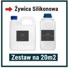 Żywica Silikonowa - Zestaw na 20m2
